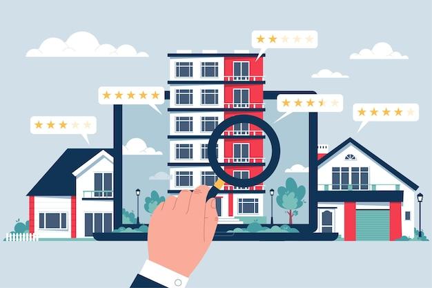 Busca imobiliária