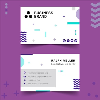 Businesscard dupla face comercial geral h