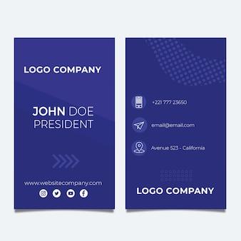 Businesscard dupla-face de seo v