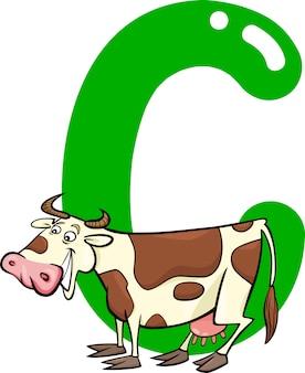 C para vaca