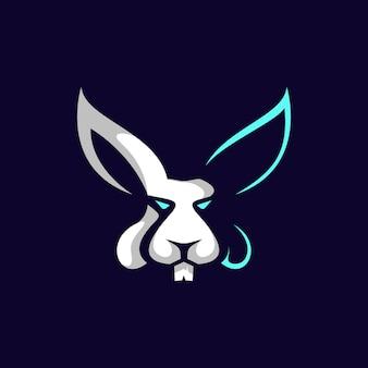 Cabeça cabeça de coelho