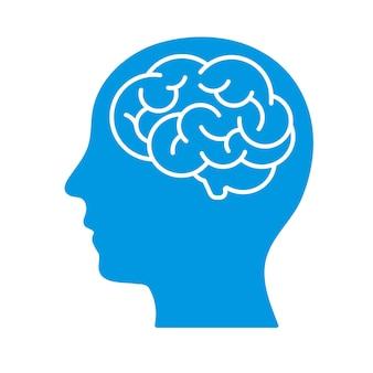 Cabeça com cérebro