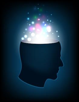 Cabeça da mente humana