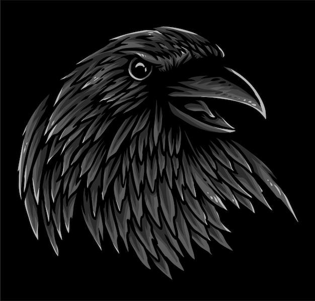Cabeça de corvo