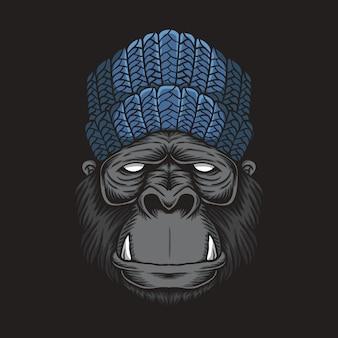 Cabeça de gorila