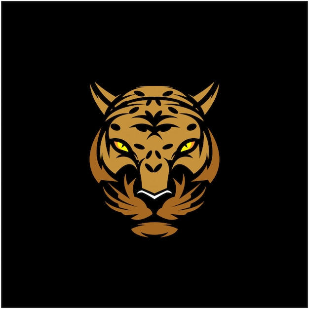 Cabeça de leopardo clip-art
