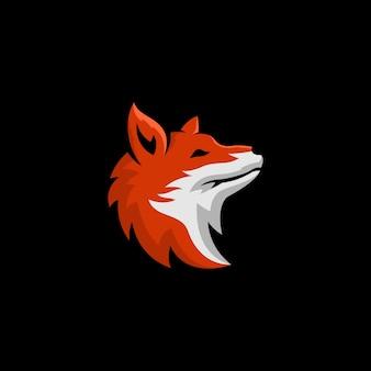 Cabeça de raposa vector art, ícone, gráficos & ilustração