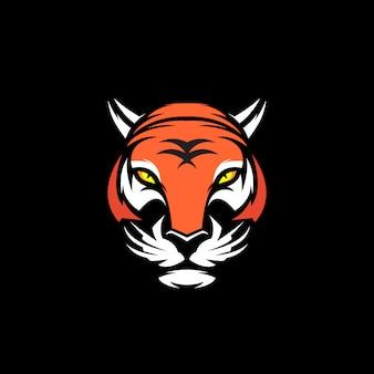Cabeça de tigre clip-art