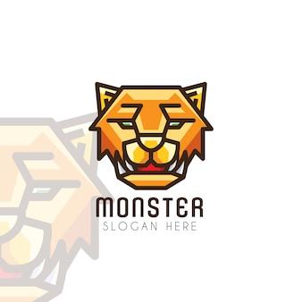 Cabeça de tigre logo