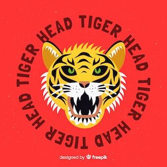 Cabeça de tigre