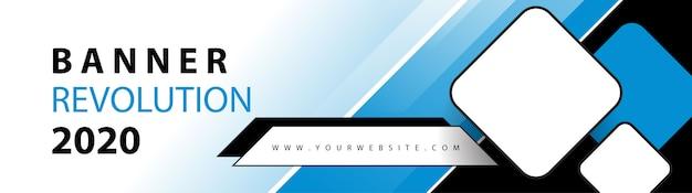 Cabeçalho da web de negócios