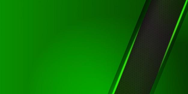 Cabeçalho da web verde moderno
