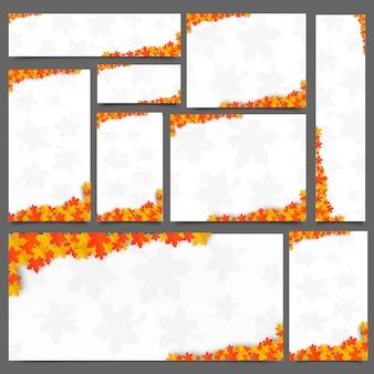 Cabeçalho do site criativo ou conjunto de banner
