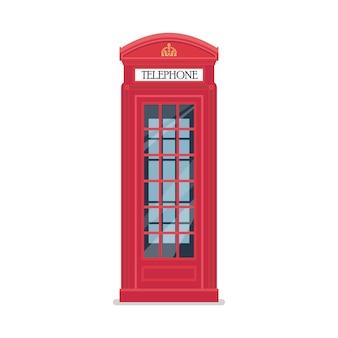 Cabine de telefone vermelho de londres