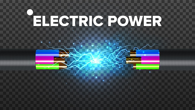 Cabo quebrado elétrico