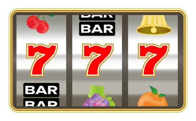 Caça-níqueis com sorte sete jackpot número