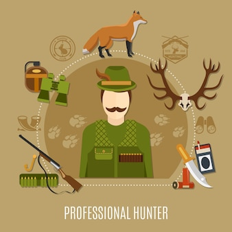 Caçador profissional