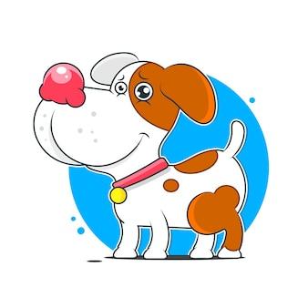 Cachorro alegre