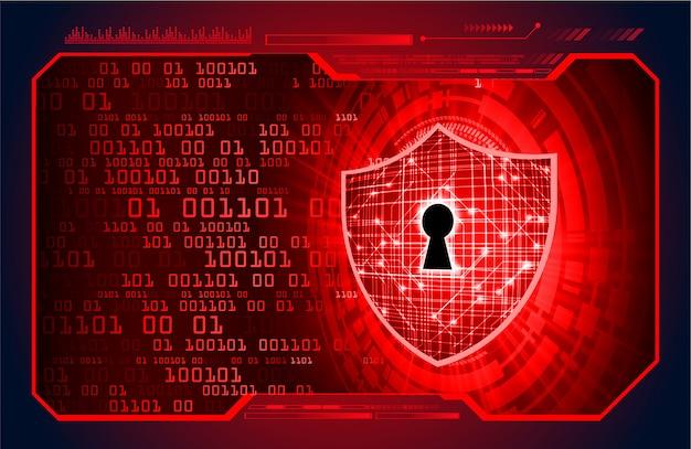 Cadeado fechado fundo digital, segurança cibernética