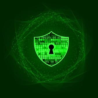 Cadeado fechado, segurança cibernética