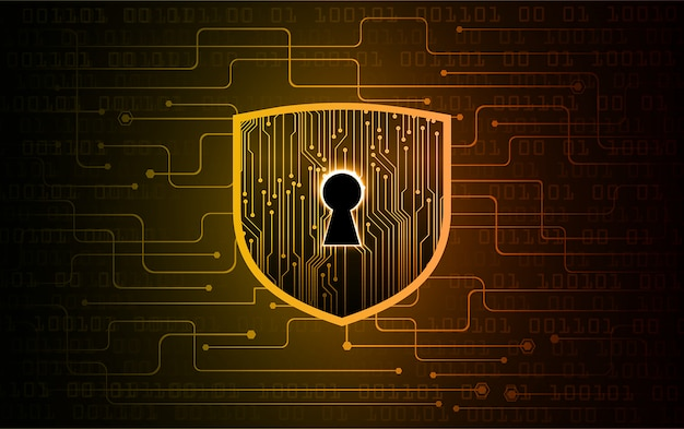 Cadeado fechado sobre segurança digital e cibernética