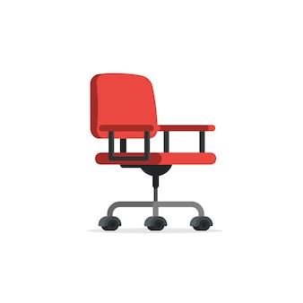 Cadeira de escritório vermelho