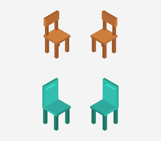 Cadeira isométrica