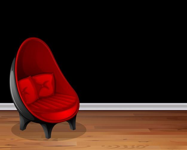 Cadeira no salão