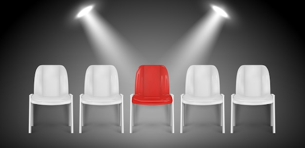 Cadeiras vagas