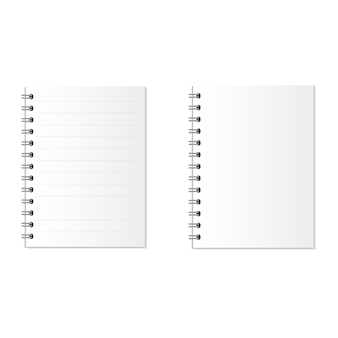 Caderno ou papel. negócios e educação