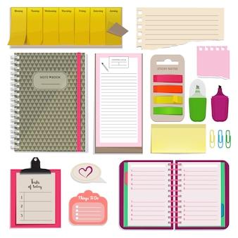 Cadernos diferentes