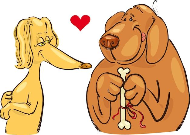 Cães apaixonados