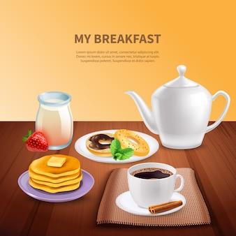Café da manhã realista