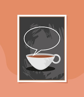 Café na lousa