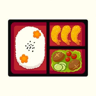 Caixa bento japonesa