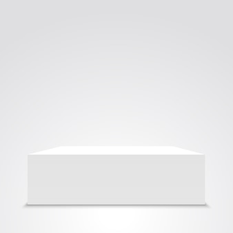 Caixa branca. .