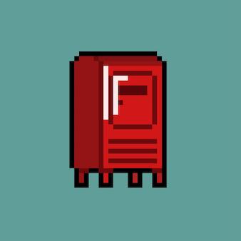 Caixa de correio com estilo pixel art