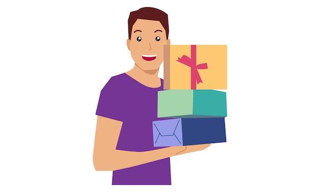 Caixa de presente masculino