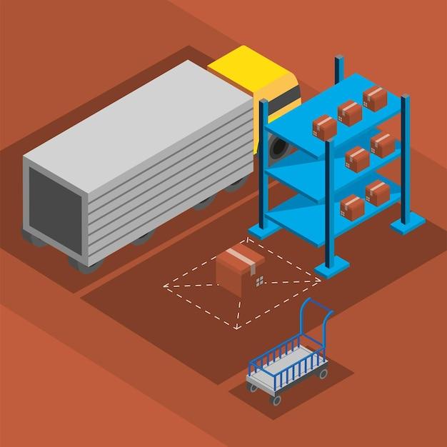 Caixas de armazenamento da indústria