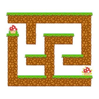 Calabouço labirinto.