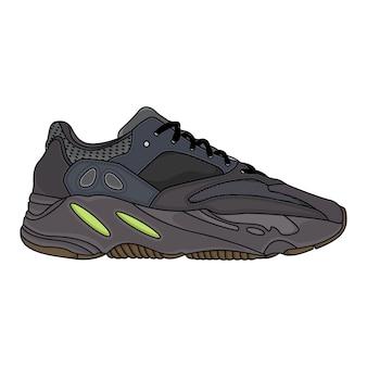 Calçados esportivos da moda