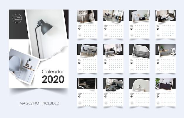 Calendar 2020 minimalis