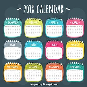 Calendário 2018