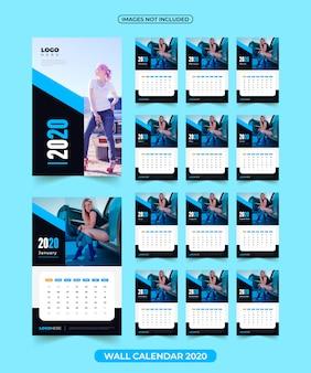 Calendário 2020 com imagens