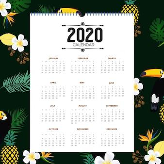 Calendário de 2020
