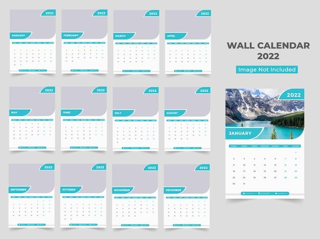 Calendário de parede 2022