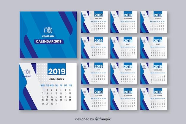 Calendário do ano 2019