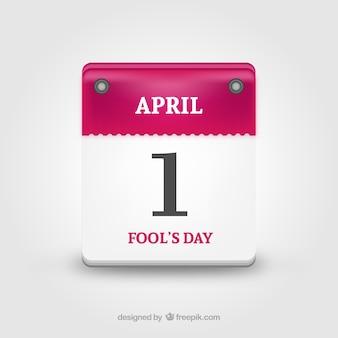 Calendário do dia da mentira