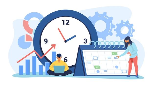 Calendário e cronograma do projeto
