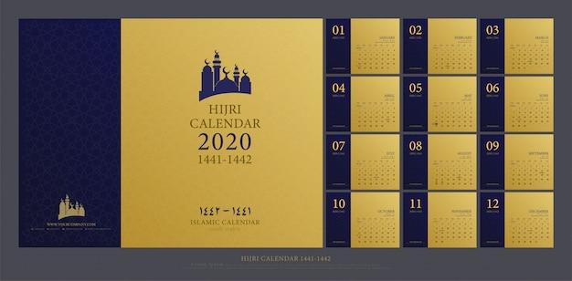 Calendário islâmico 2020 islâmico
